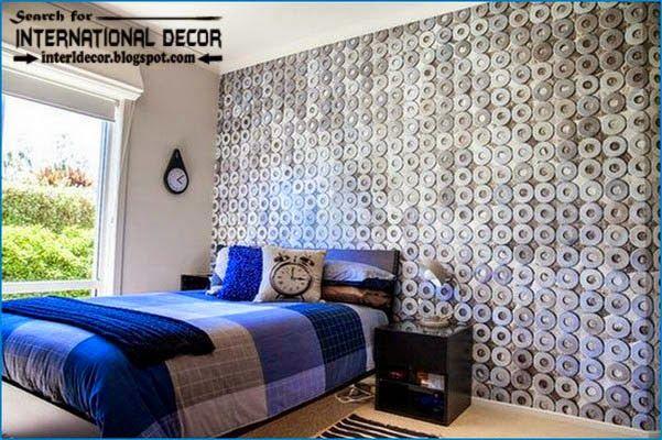 Cool Wallpaper Designs For Bedroom Unique Design Decoration