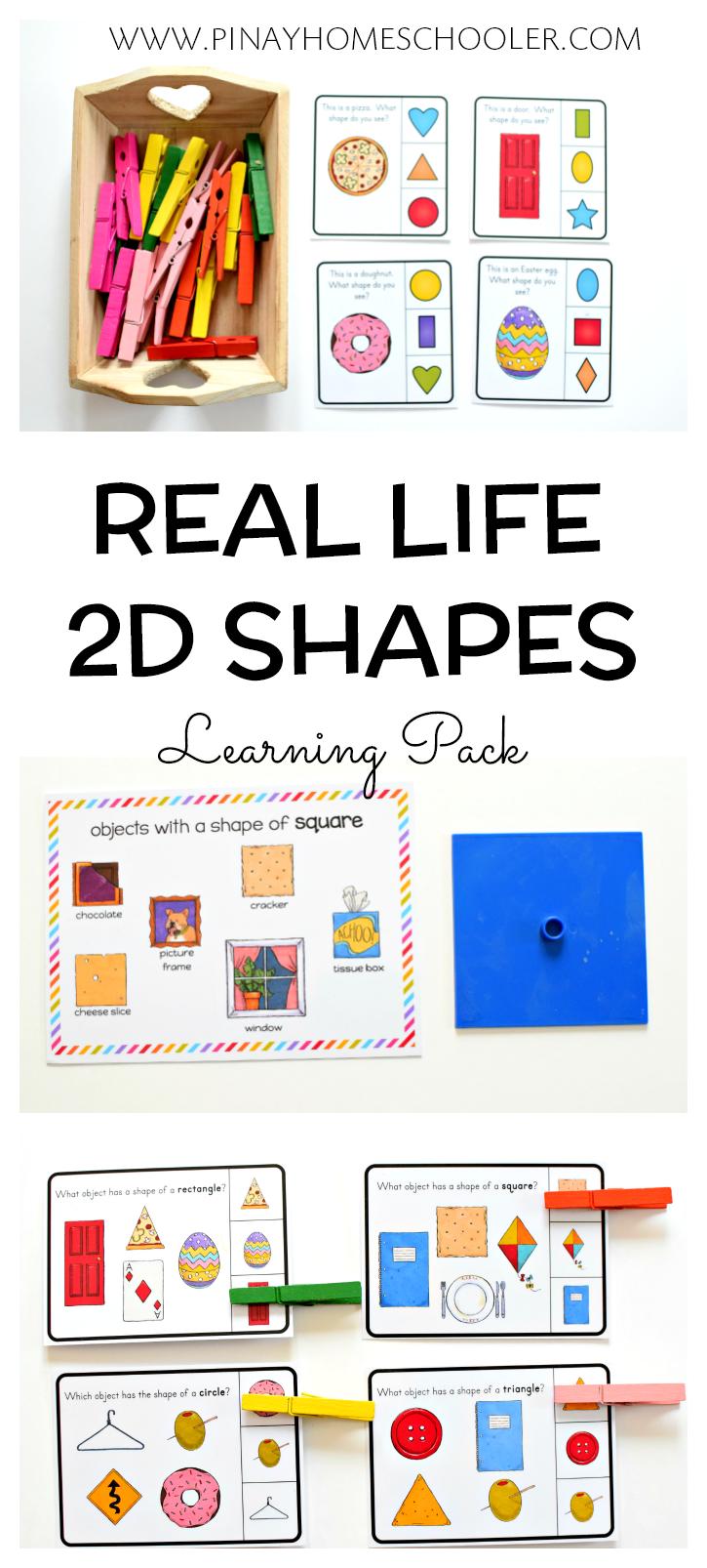 Identifying 2d Shapes In Real Life Objects Shape Activities Preschool Shapes Worksheet Kindergarten 2d Shapes [ 1606 x 725 Pixel ]