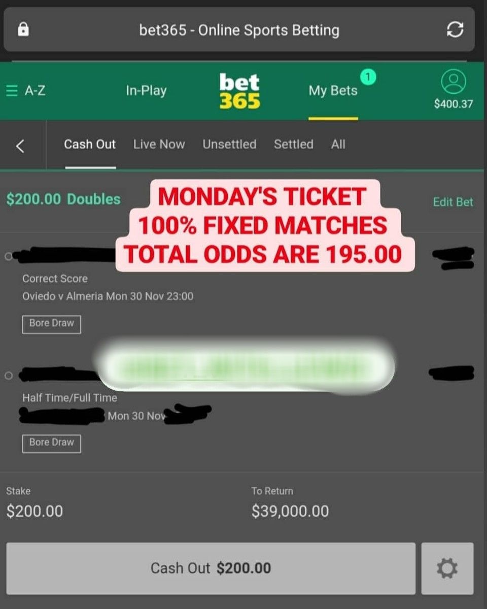 Cash in cash out bettingadvice double chance soccer betting predictions