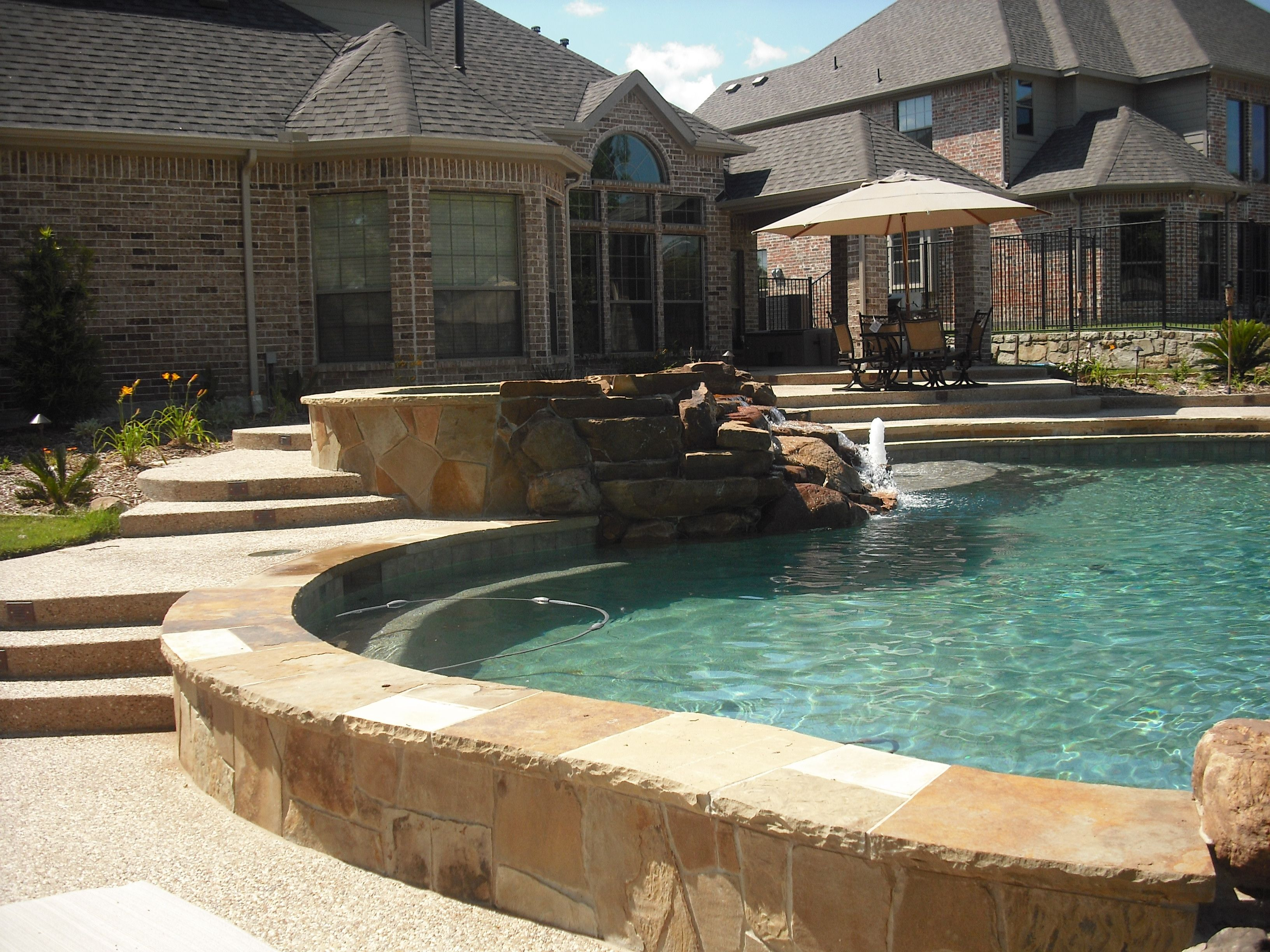 Above Ground Pool Landscaping | In Ground Pools | Crown