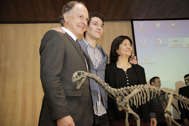 Presentación Oficial Chilesaurus en el Campus Bellavista