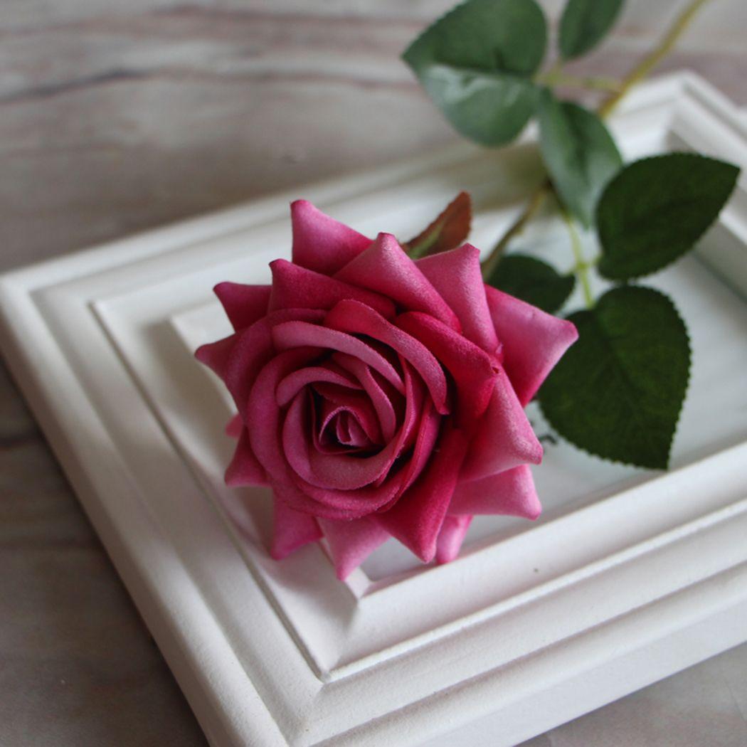 Valentine-Rose-Craft-Centerpiece-Silk-Flowers-Decor-Party-Wedding-Bridal-Gift