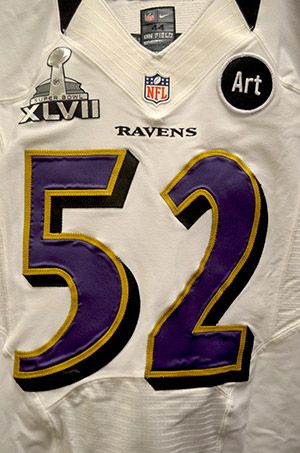 Check Out Super Bowl XLVII Jerseys | Baltimore ravens football ...
