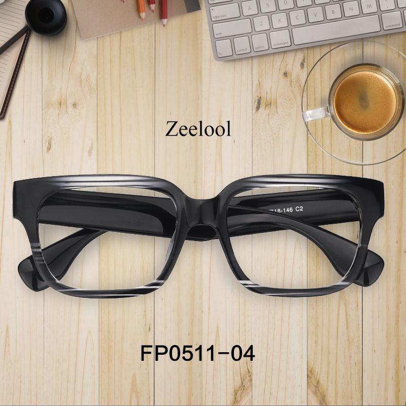 e929632b8c Colin Rectangle Black Glasses FP0511-04