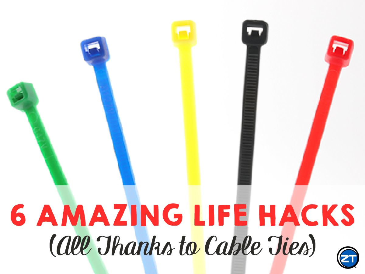 e6c9403d8 6 Amazing Life Hacks Using Zip Ties! #DIY #lifehacks #lifehack #life #hacks  #home #tips #gardening #travel