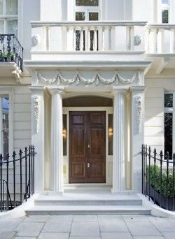 Exteriors | Pinterest | London townhouse, Townhouse and Doors