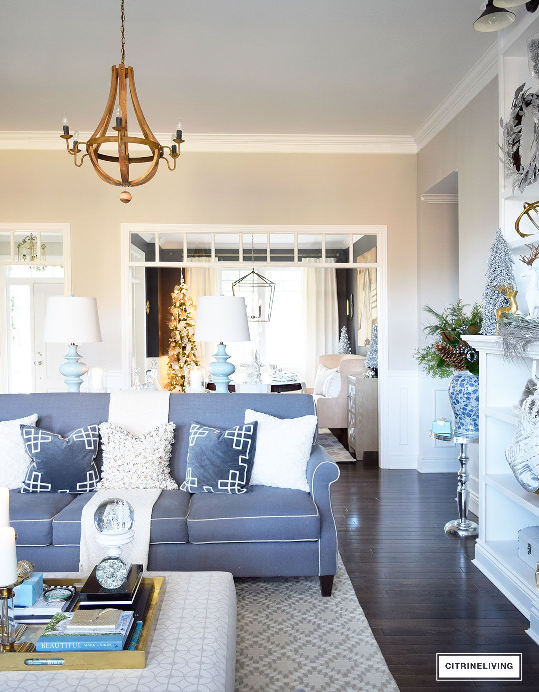 HOLIDAY HOME SHOWCASE 2016 | Holiday themes, Holidays and Living rooms