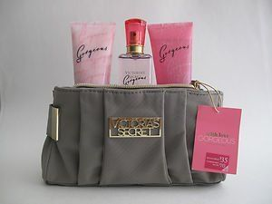 Victoria's Secret Gorgeous Mist Lotion Wash Gift Set Clutch by Victoria's Secret. $34.00