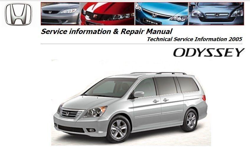 honda odyssey repair service manual honda odyssey repair service rh pinterest com Honda Odyssey Manual PDF Honda Odyssey Interior
