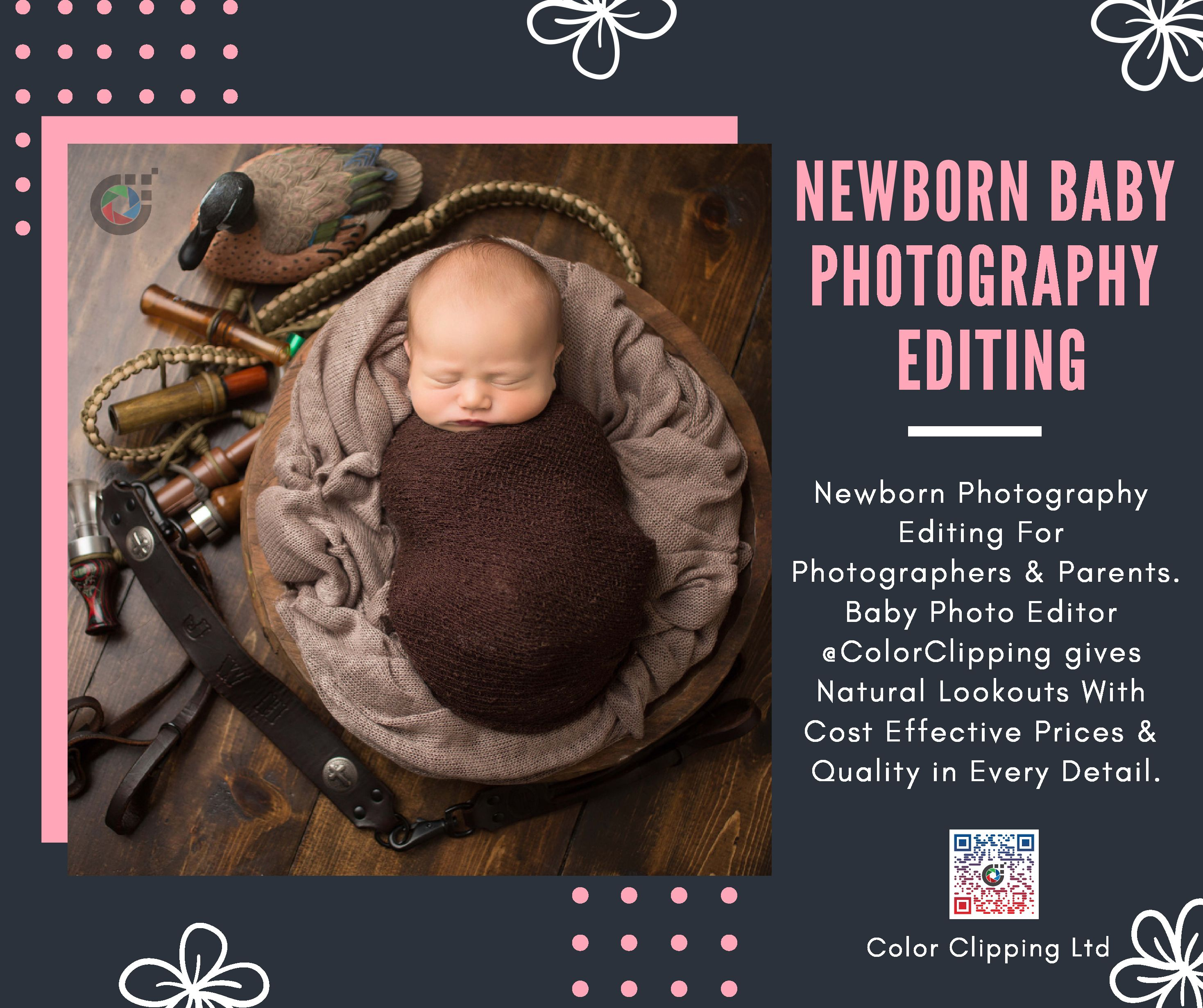 newborn photo editing services