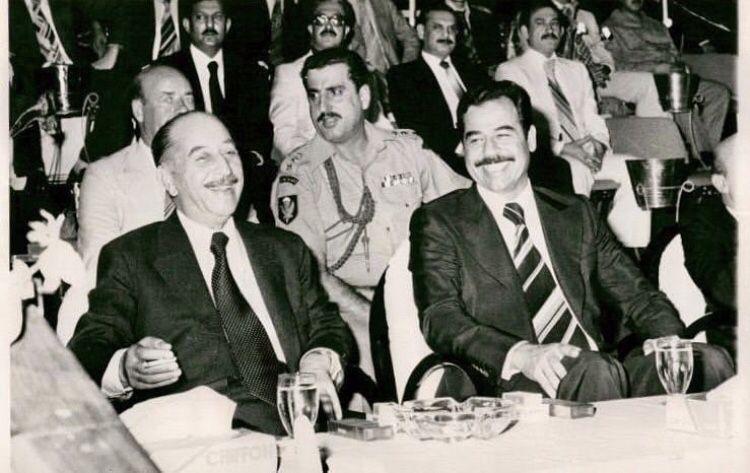 صدام حسين أحمد حسن بكر History Saddam Hussein Historical Figures