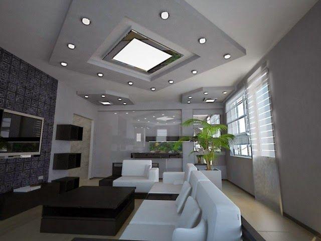Modern Living Room Ceiling Lights Recessed Spotlights As Ceiling