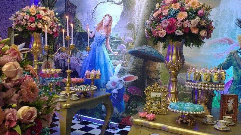 Tema Alice No Pais Das Maravilhas Doces Alice No Pais Das