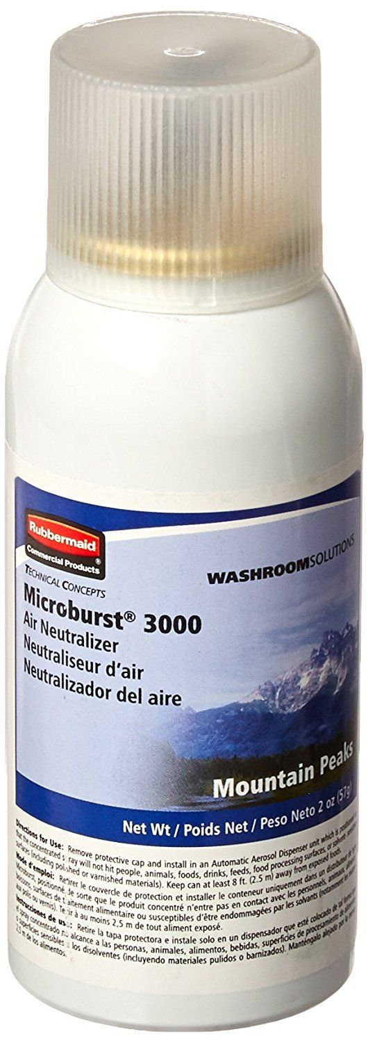 Rubbermaid Commercial Microburst 3000 Refill with Mountain