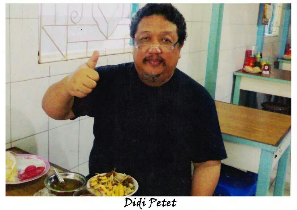 Mr Didi Petet Give Us A Thumbs Up
