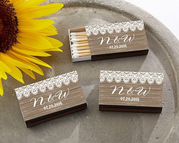 We know how important those little details are to you at your country vintage wedding or country chic bridal shower. And your guests know it too! That's why when you choose Kate Aspen's personalized b