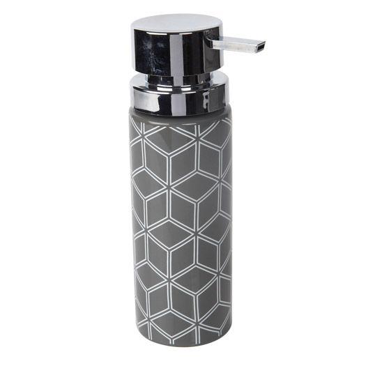 Distributeur de savon Barney, gris gris n°1 SALLE DE BAIN 2 - Meuble De Salle De Bain Sans Vasque