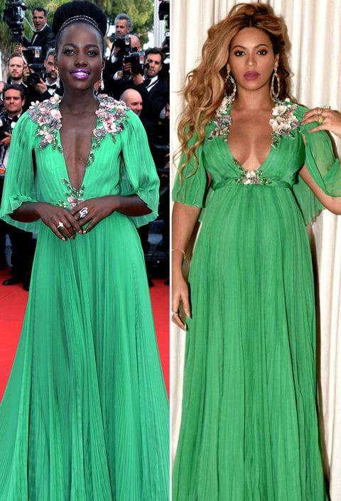 5efc74c1a6e Beyoncé portait la même robe Gucci comme actrice oscarisée