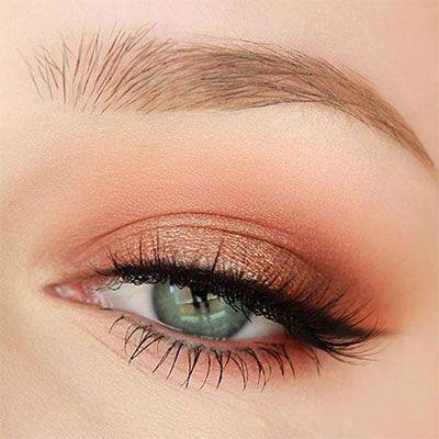 10-Natural-Summer-Eye-Makeup-Trends-Ideas-For-Girls-Women-2017-7.jpg 400 × 400 Pi … | Papo de Maquiagem