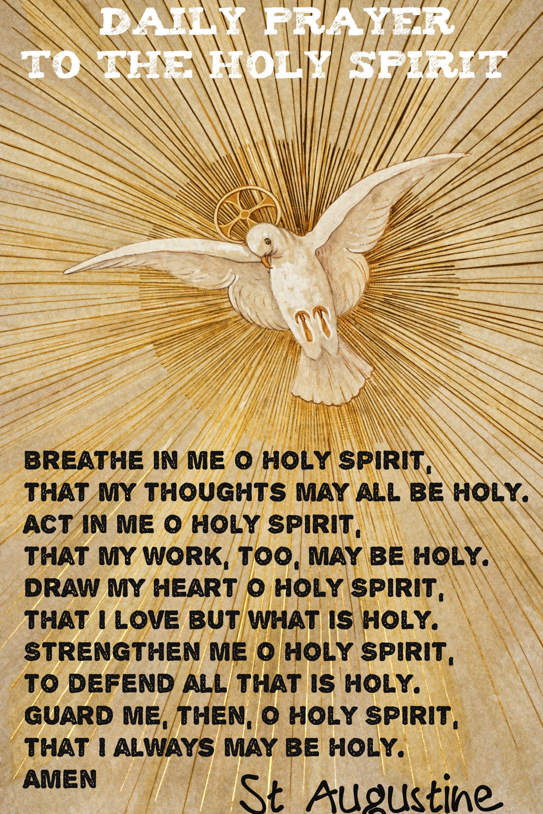 DAILY PRAYER TO THE HOLY SPIRIT… | Prayer Warrior in