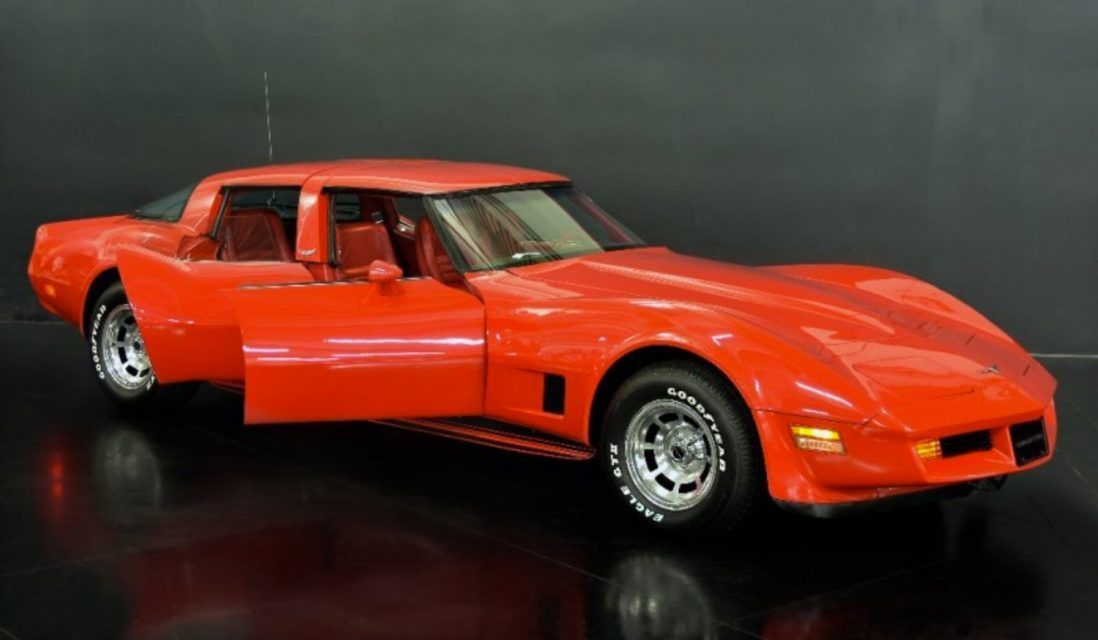 Rare FourDoor C3 Corvette Up For Sale In California en