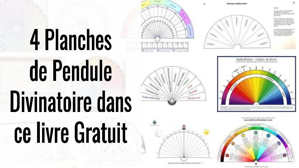 118d5ff21b580e 4 Planches De Pendule Divinatoire Gratuites Dans Ce  Livre En  PDF  voyance
