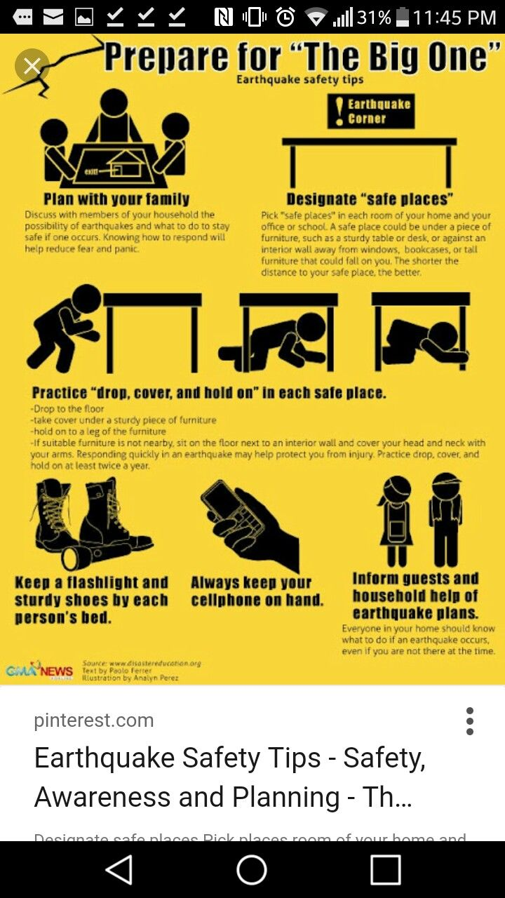 Pin by whitney taylor on EMERGENCY PREPAIRED Earthquake