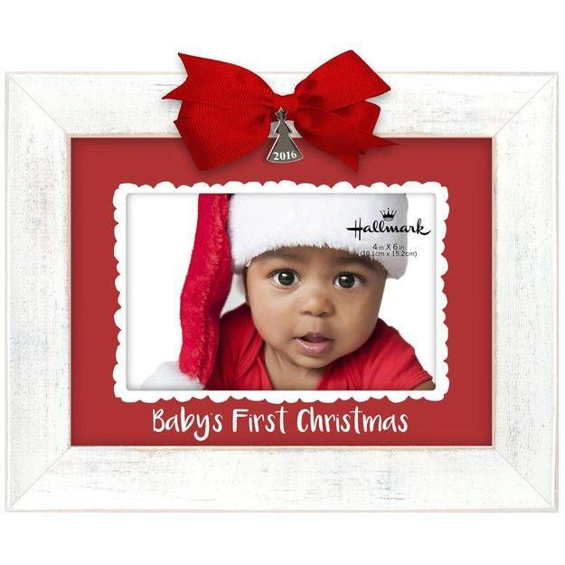 Baby S First Christmas 2016 Malden 4x6 Picture Frame Christmas