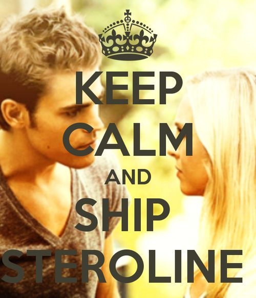 #steroline #tve sick of whiny Elena. Damon can have her. Lets make out boy happy!!!