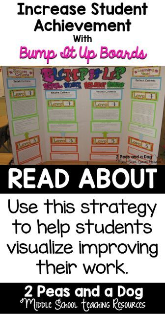 Bump It Up Boards Instructional Strategies Students And Board