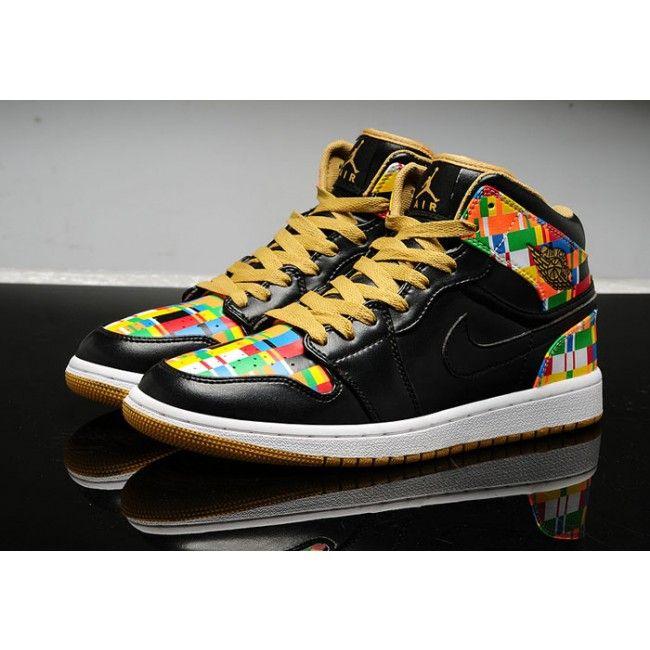 colorful air jordan 1 retro high rttg dc - Colorful Jordan Shoes