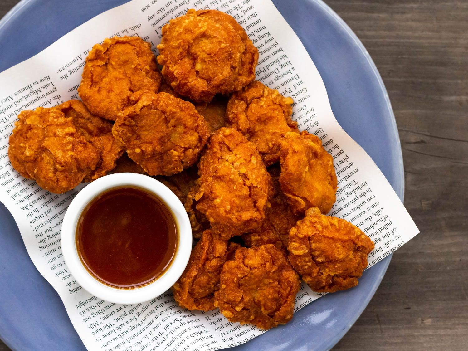 Homemade Chicken Nuggets With Sweet N Sour Sauce Recipe Recipe In 2020 Serious Eats Recipes Chicken Mcnuggets