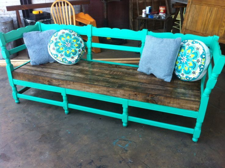 Reusing Old Furniture repurposing old furniture into outdoor furniture | antique couch