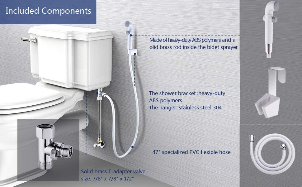 50 Off Hand Held Bidet Jet Sprayer For Toilet With Images