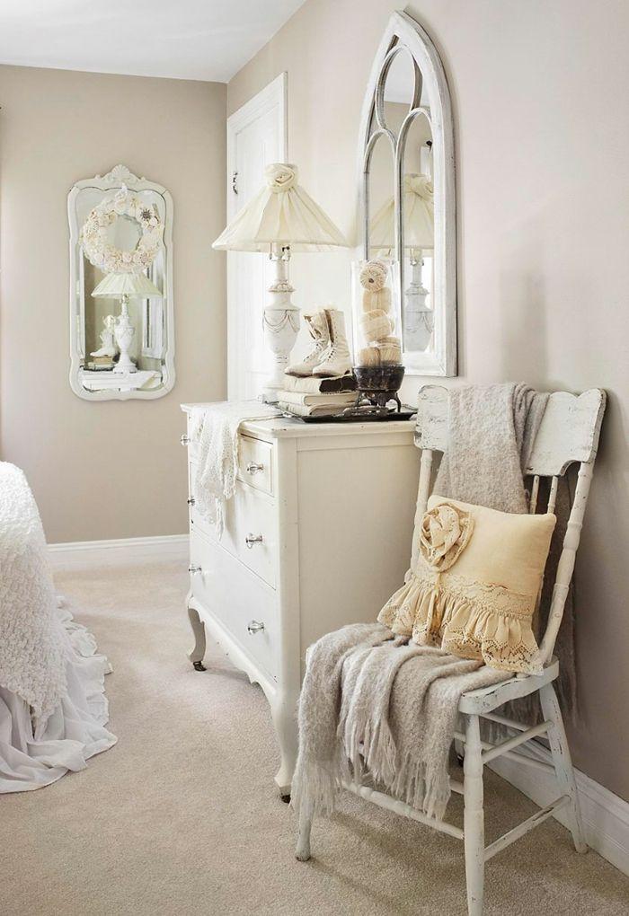shabby chic kommode romantisches schlafzimmer anrichte weiß - schlafzimmer kommode weiß