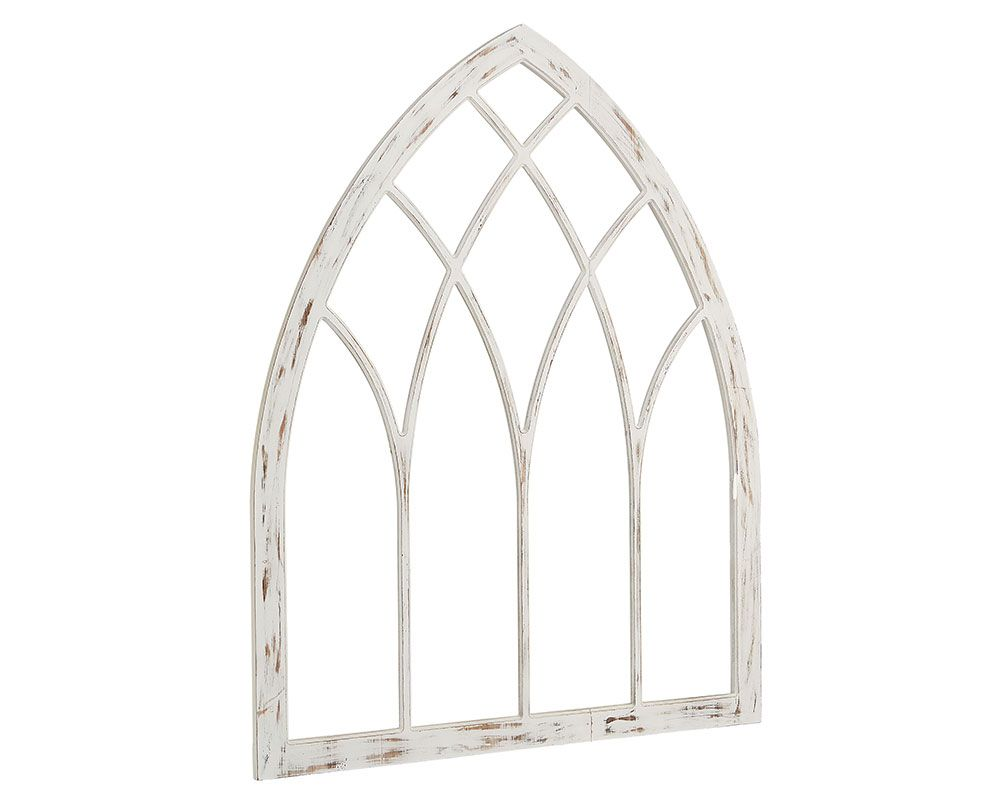 Lancet Window Panel Wall Decor Magnolia Home 80005 In 2019 Window Wall Decor Arched Wall