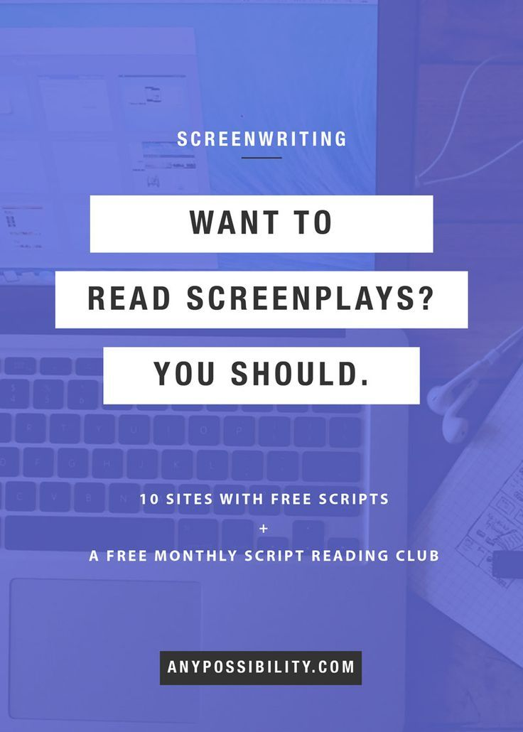 10 resources to read screenplays online for free screenwriting