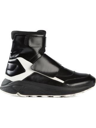 best sneakers b2314 f51ce Kktp Hi-top Velcro Fastening Sneakers - Julian Fashion - Farfetch.com