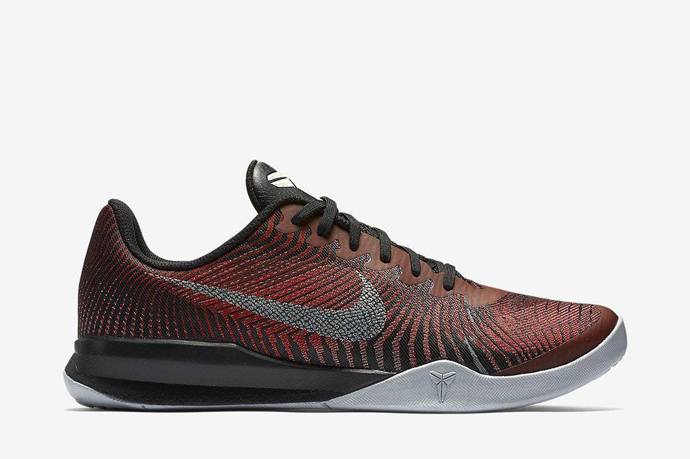 "Nike Kobe Mentality 2 ""Black/University Red/Metallic Silver"" - EU Kicks"