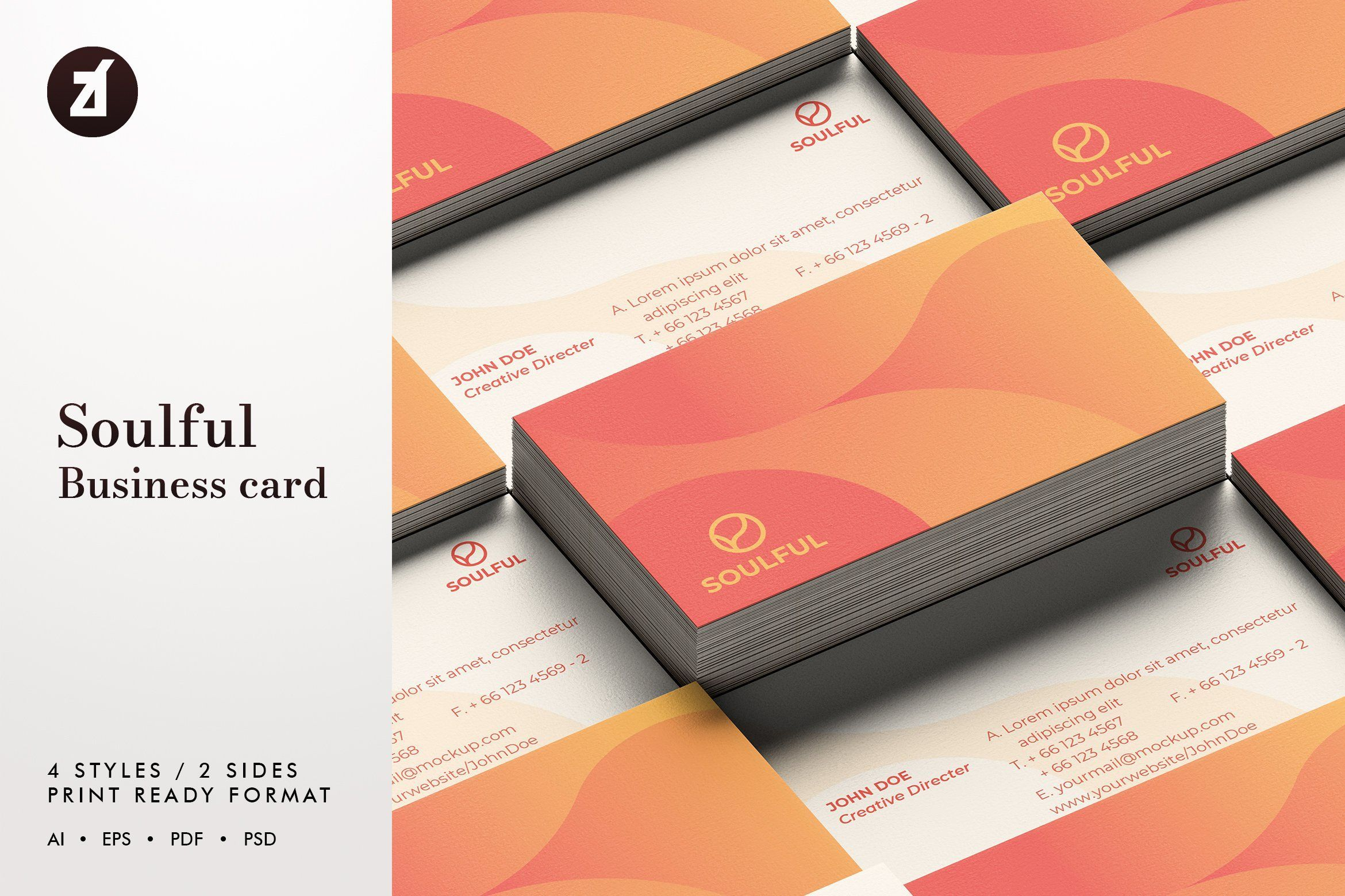 Soulful Business Card Template In 2021 Business Card Template Modern Business Cards Cool Business Cards