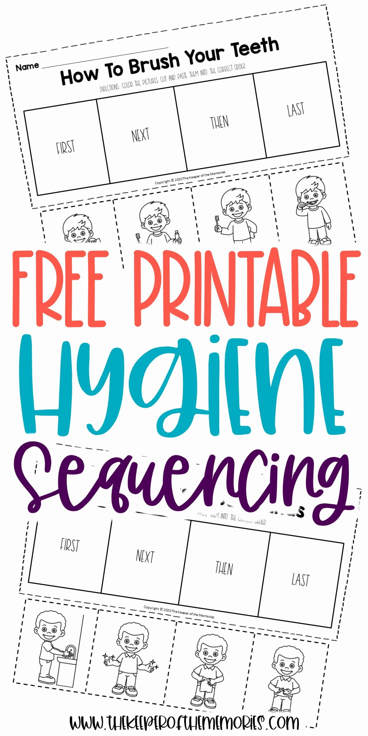 Hygiene Worksheets For Preschoolers Unique Free Printable Preschool Sequencing Workshe Sequencing Worksheets Kids Worksheets Printables Kindergarten Worksheets [ 2560 x 1280 Pixel ]