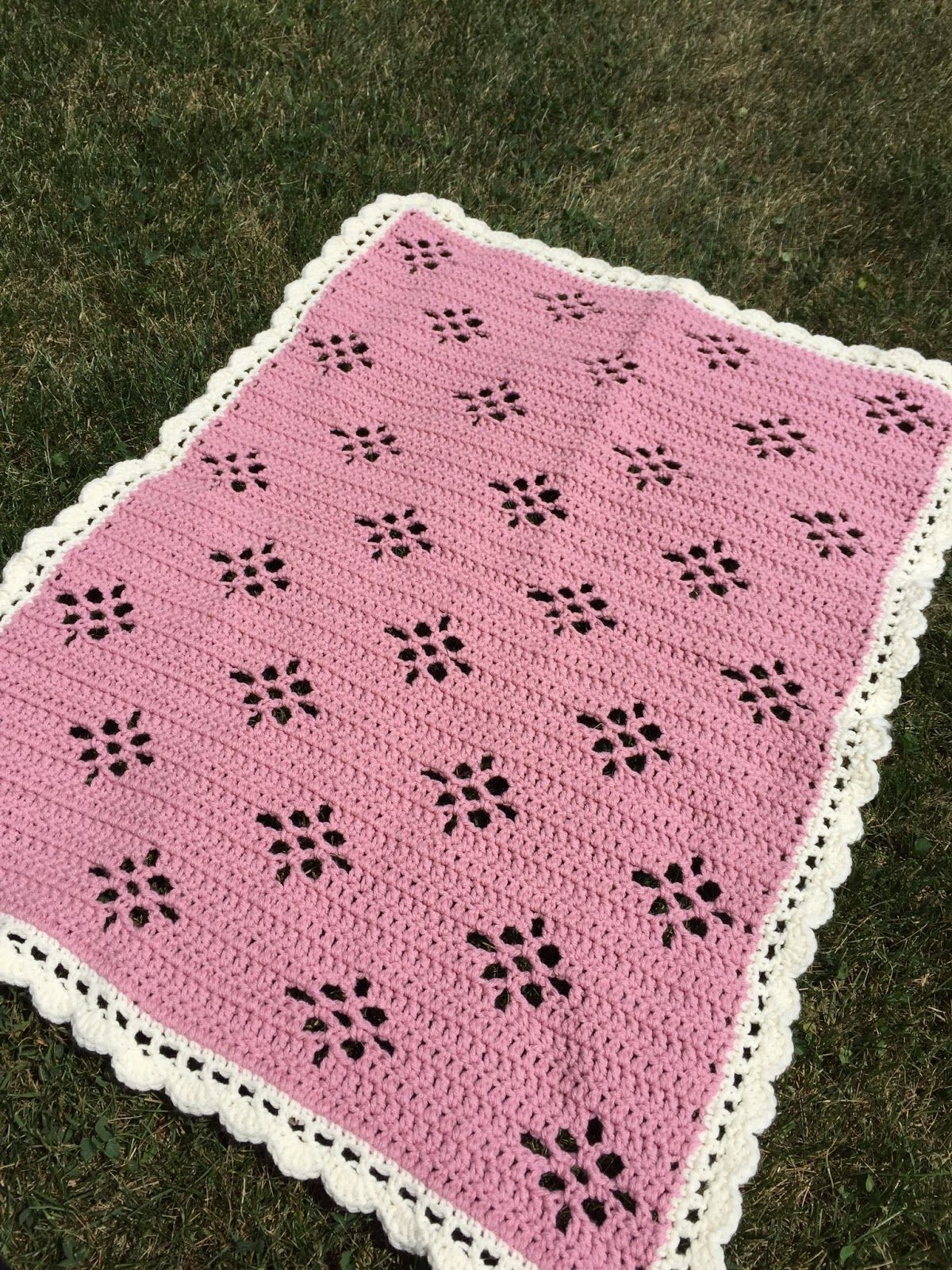 Skein and Hook: Free Crochet Pattern: Molalla Baby Blanket ...