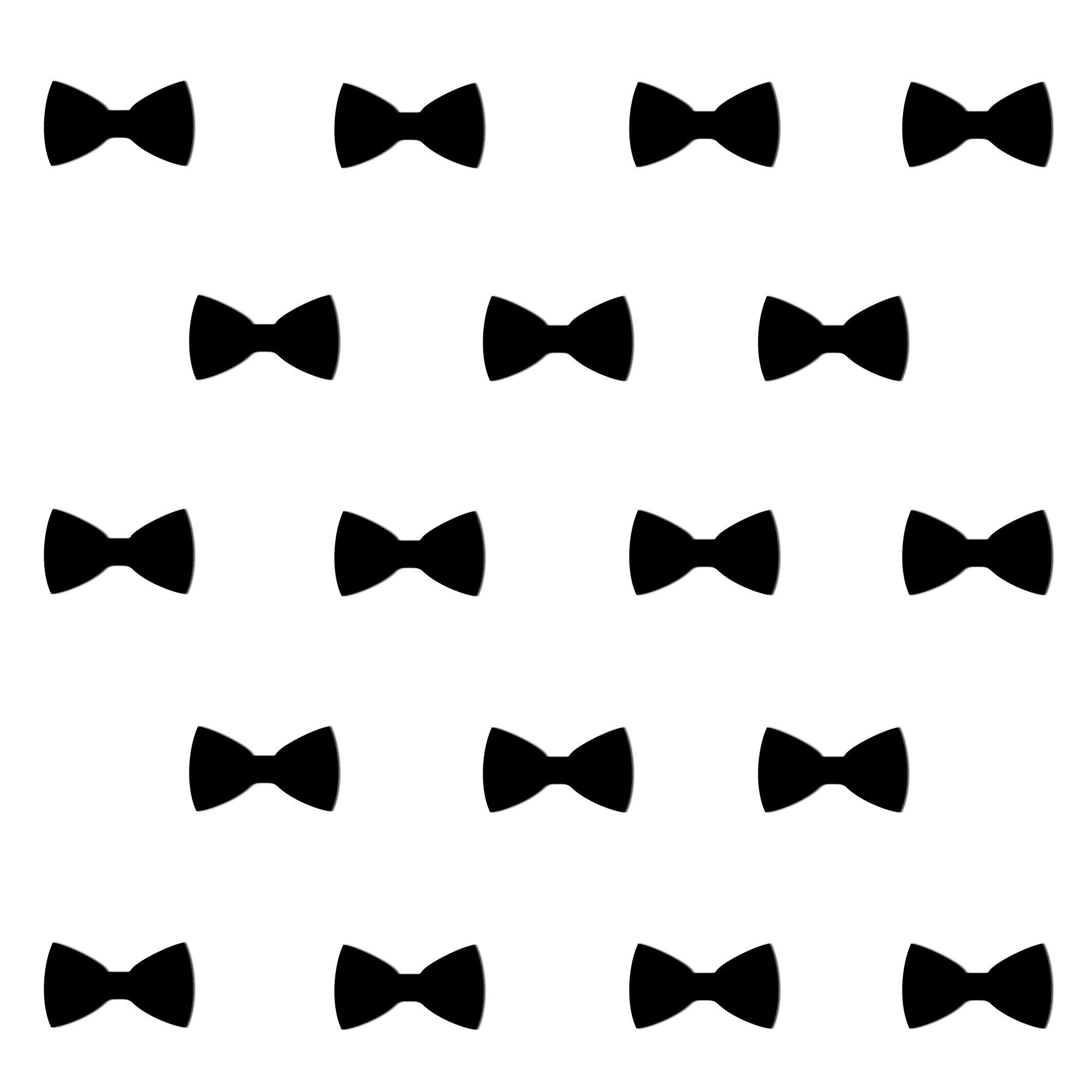 Dekoracja ścienna 20 Szt Kokarda Geometric Czarna Ds 711407
