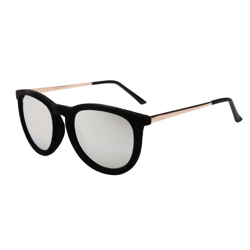 49ef53d59 Barato Selljimshop Super moda óculos de sol mulheres marca de grife de  veludo quadro Gafas mulheres