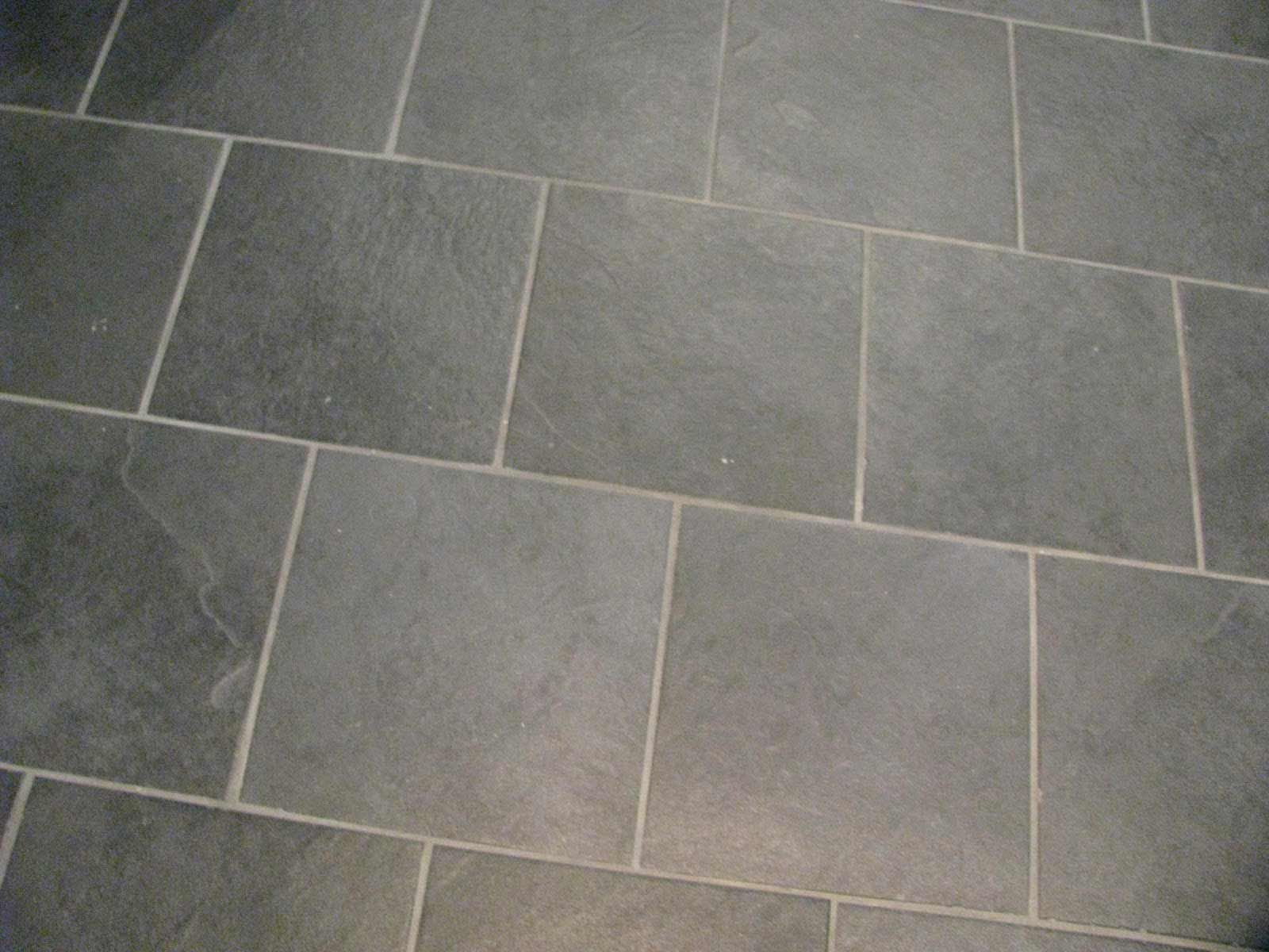 Black Slate Porcelain Brick Tile Design For Bathrooms