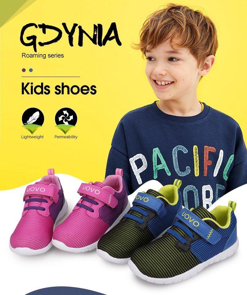 e8c895de32e UOVO más nuevos niños zapatos transpirables zapatos de primavera zapatos de otoño  zapatos para niños niñas