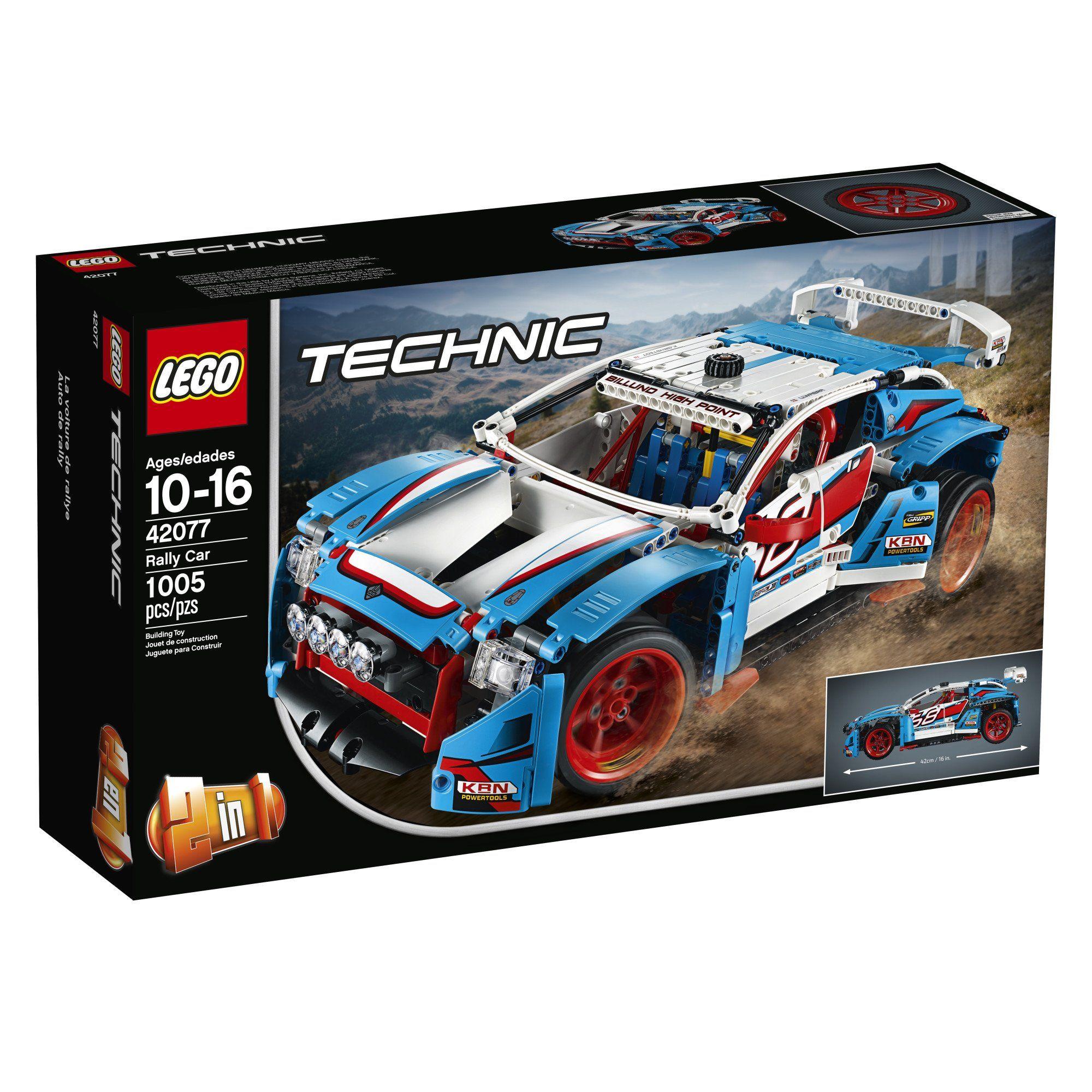 LEGO Technic Rally Car 42077 Building Kit 1005 Piece