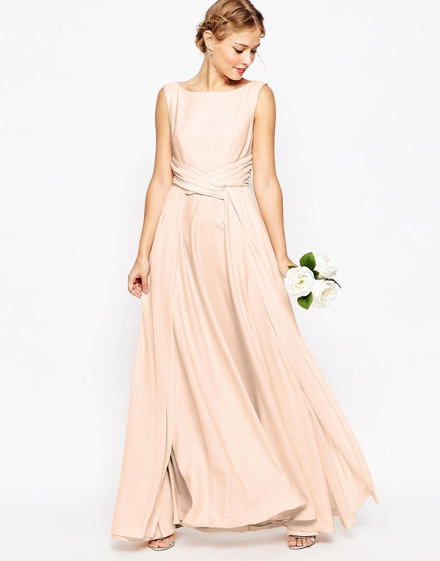 WEDDING Soft Maxi Prom Dress