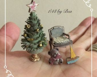 1/48 vintage stove hand made dollshouse miniatures by Bea
