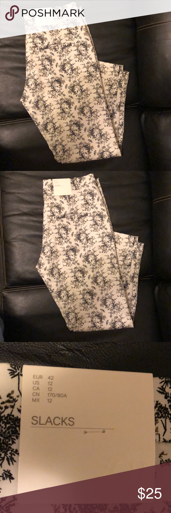 Black and white Slacks Black and white slacks H&M Size 12 Brand new with tags H&M Pants Skinny #whiteslacks Black and white Slacks Black and white slacks H&M Size 12 Brand new with tags H&M Pants Skinny #whiteslacks